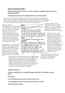 AQA Romeo and Juliet annotated extract and plan