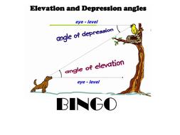 Bingo - Angles of elevation and depression