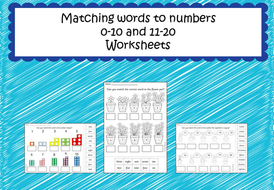 Matching-words-to-numbers-0-10-and-11-20-worksheets.pdf