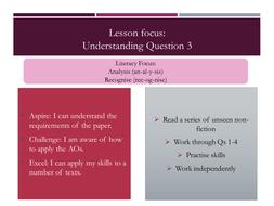 AQA Language Paper 1 Q3