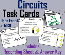Circuits Task Cards