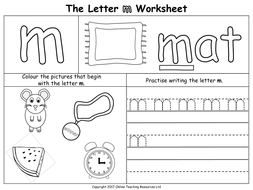 The Letter 'm' by Online_Teaching_Resources - Teaching Resources - Tes