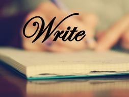 OCR GCE H074 Literature Poetry - 'Write' by Carol Ann Duffy.