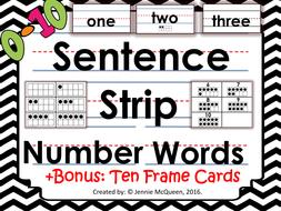 SentenceStripNumberWords010BONUSTenframecards.pdf