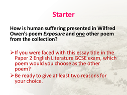 Power And Conflict Comparative Essay Writing Resources  New Aqa  Power And Conflict Comparative Essay Writing Resources  New Aqa Gcse Lit  Spec