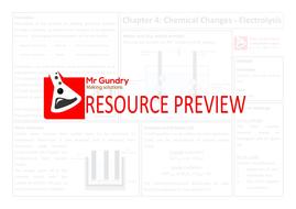 11-Chemical Changes - Electrolysis Revision Sheet.pdf