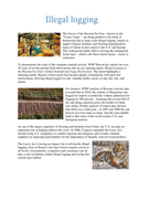 Threats to the Taiga (Boreal forest)