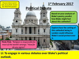 Songs of Innocence - Blake - AQA Social Protest: Connections