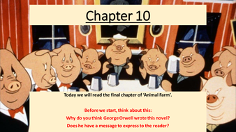 39 animal farm 39 lessons on final chapters 9 and 10 by tori21 teaching resources tes. Black Bedroom Furniture Sets. Home Design Ideas