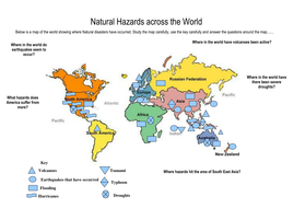 Natural hazards world analysis map by gjolly2 teaching resources tes natural hazards world analysis map gumiabroncs Choice Image