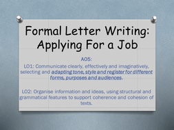 Letter-writing--Applying-for-a-job.pptx