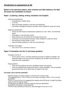 New AQA AS French / Spanish / German assessment guidance