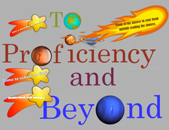 To Proficiency and Beyond! Test-Taking tips and inspiration bulletin board