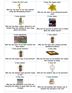 Fun Review Game: I Have/Who Has? Earth Science Bundle!