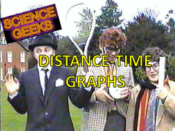 DISTANCE -TIME GRAPHS - THE PRESENTATION!