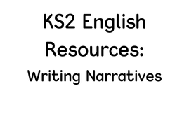 Exciting writing! Resources to help improve KS2 English