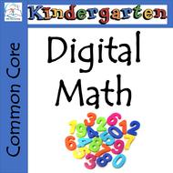 Whiteboard Kindergarten Math - Common Core Aligned