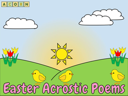 Easter---acrostic-poems.pptx
