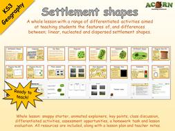 Geography---Settlement---Settlement-shapes.pptx