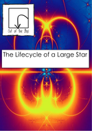 Space. The Lifecycle of a Large Star. Facts and Worksheet