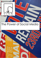 Media. The Power of Social Media. Facts and Worksheet