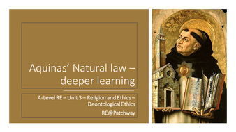 Lesson-2---Aquinas--Natural-law---deeper-learning.pptx