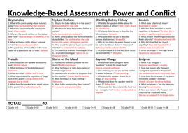 Knowledge-Based-Assessment-poems-studied-so-far-8-Answer-sheet.docx