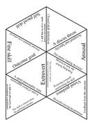 GCSE PE AQA 9-1 Sports Psychology Tarsia Triangle Puzzle