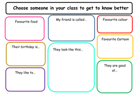 Friendship worksheets by miss_tallulah - Teaching Resources - Tes
