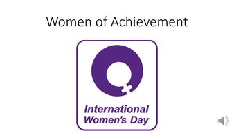 international women s day women slideshowpptx