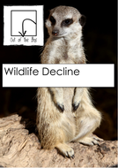 Nature. Wildlife Decline. Facts and Worksheet