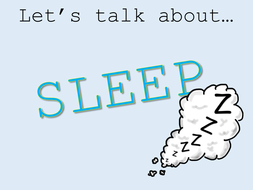 Assembly on the importance of sleep | Teaching Resources