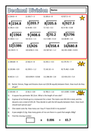 differentiated decimal division worksheet by prof689 teaching resources. Black Bedroom Furniture Sets. Home Design Ideas