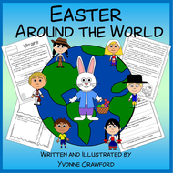Easter Around the World Literacy Activities Growing Endless Bundle