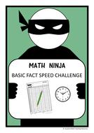 math basic facts math ninja challenge