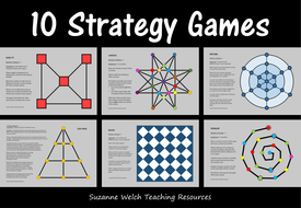Strategy Board Games for Critical Thinking