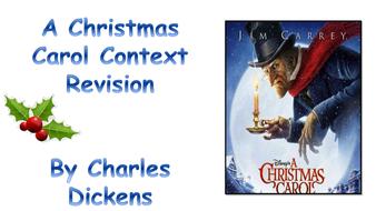 A Christmas Carol Context Revision Booklet