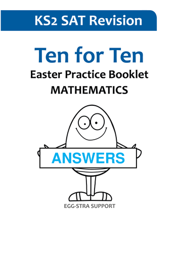 Ten for ten ks2 mathematics easter practice booklet by ten for ten ks2 mathematics easter practice booklet by nyimadrayang teaching resources tes fandeluxe Choice Image