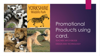 Promotional Products using card