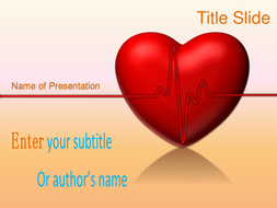 animated heart ppt template by templatesstore teaching resources tes