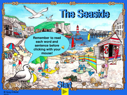 the seaside ks1 worksheets and powerpoint by mariedp teaching resources. Black Bedroom Furniture Sets. Home Design Ideas