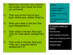 rs tracking sheets and levels for exercise books ks3 and gcse by