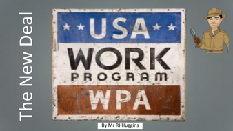 New Deal: The Works Progress Administration