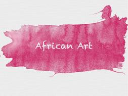 AfricaArtArtHistory152SlidesAfricanContinentArt.pptx