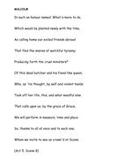 Iambic Pentameter Macbeth by lmoran92 - Teaching Resources - Tes
