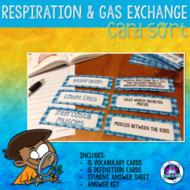 Respiration Vocabulary Card Sort FREEBIE
