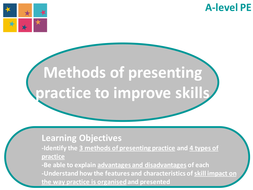 AQA GCE - Lesson 3 - Skill Acquisition