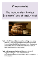 OCR EMC Language and Literature Independent Project Companion