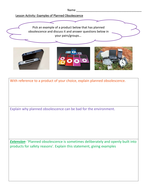 Year 7 and 8 - Moral, social and cultural issues in Design Technology
