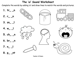The \'ai\' Sound by Teacher-of-Primary - Teaching Resources - Tes